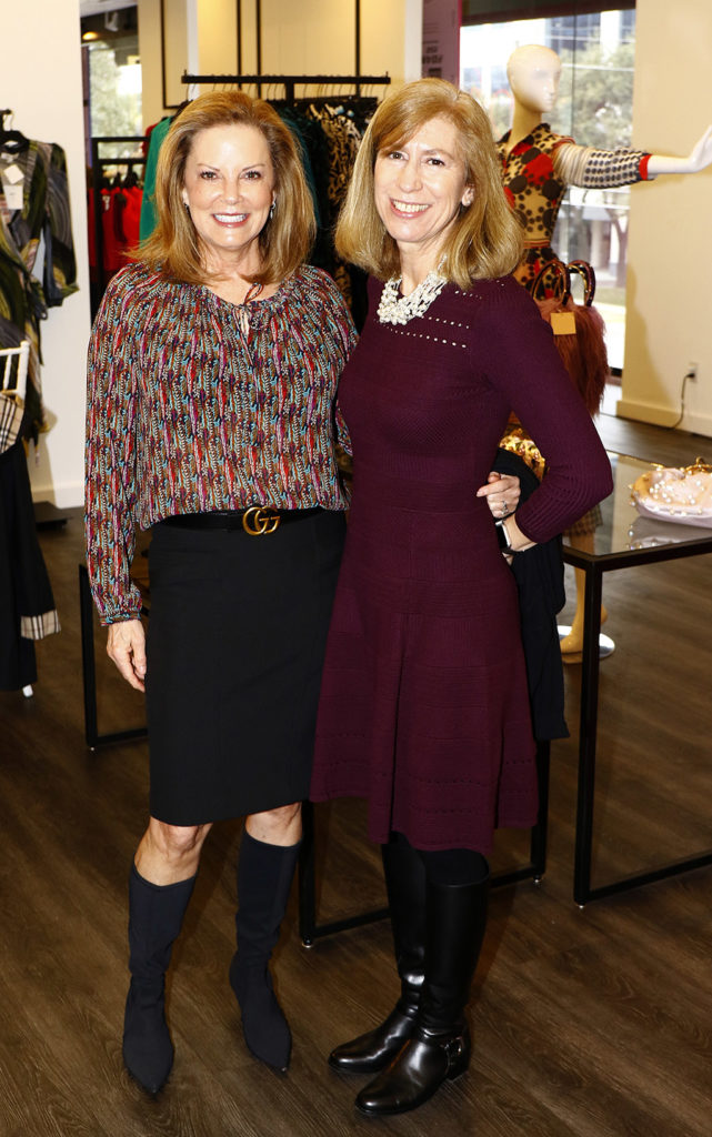 Nancy Valant and Marie Jones