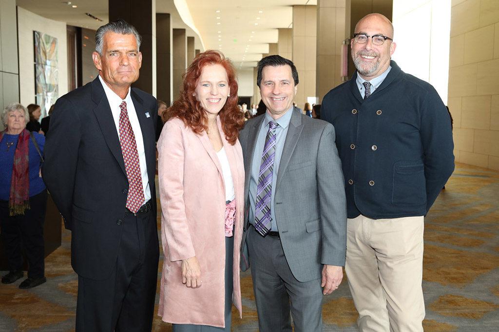 Judge Craig Mitchell, Brenda Ewing Snitzer, David Moore, and Robert Wilonsky