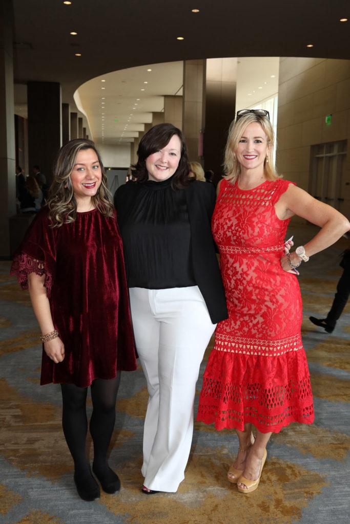Kristin Merron, Rebecca Eldredge, and Betty Heckman
