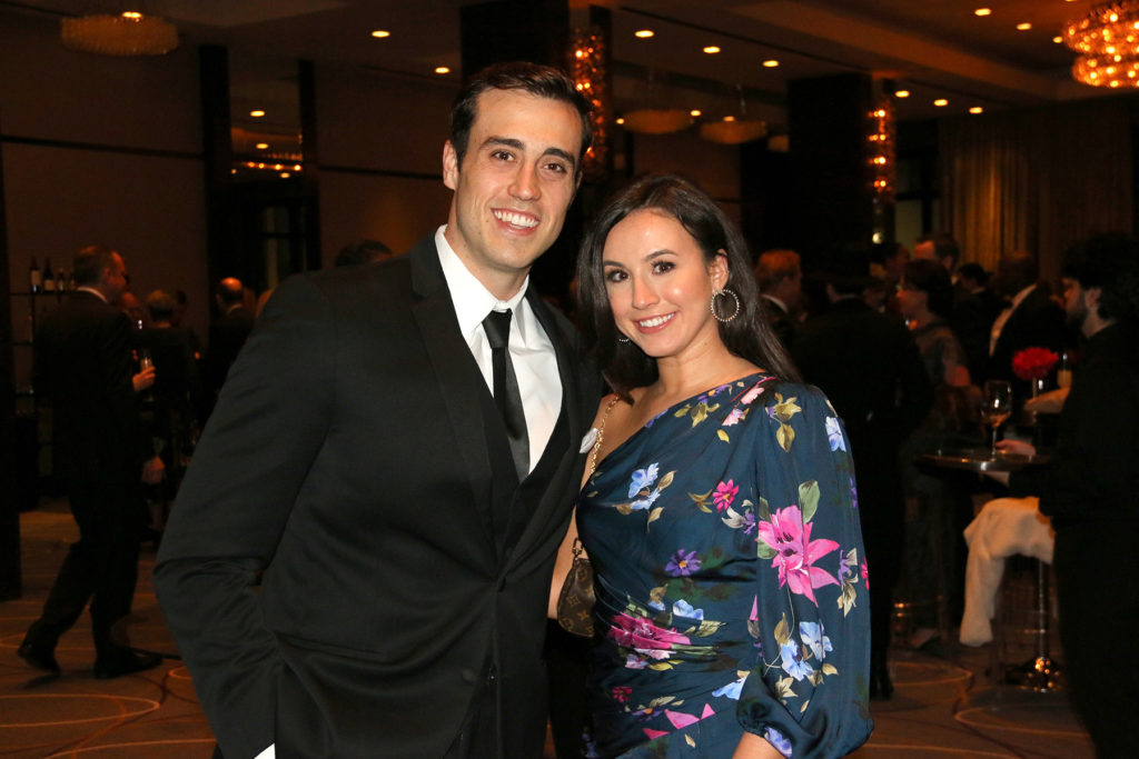 Kyle Webster and Tara Richard