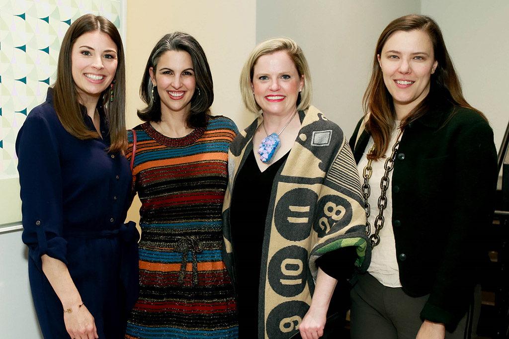 Melissa Ellis, Mione Plant, Jennifer Klos, and Erika Huddleston