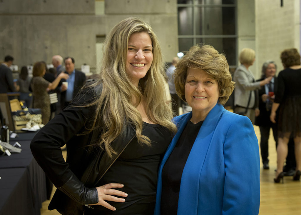 Concert for Kindness Board Member Kelly Cardin and Virginia Bryan
