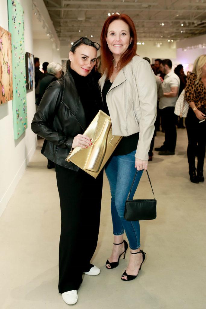 Tricia Sereno and Sharon Bridges