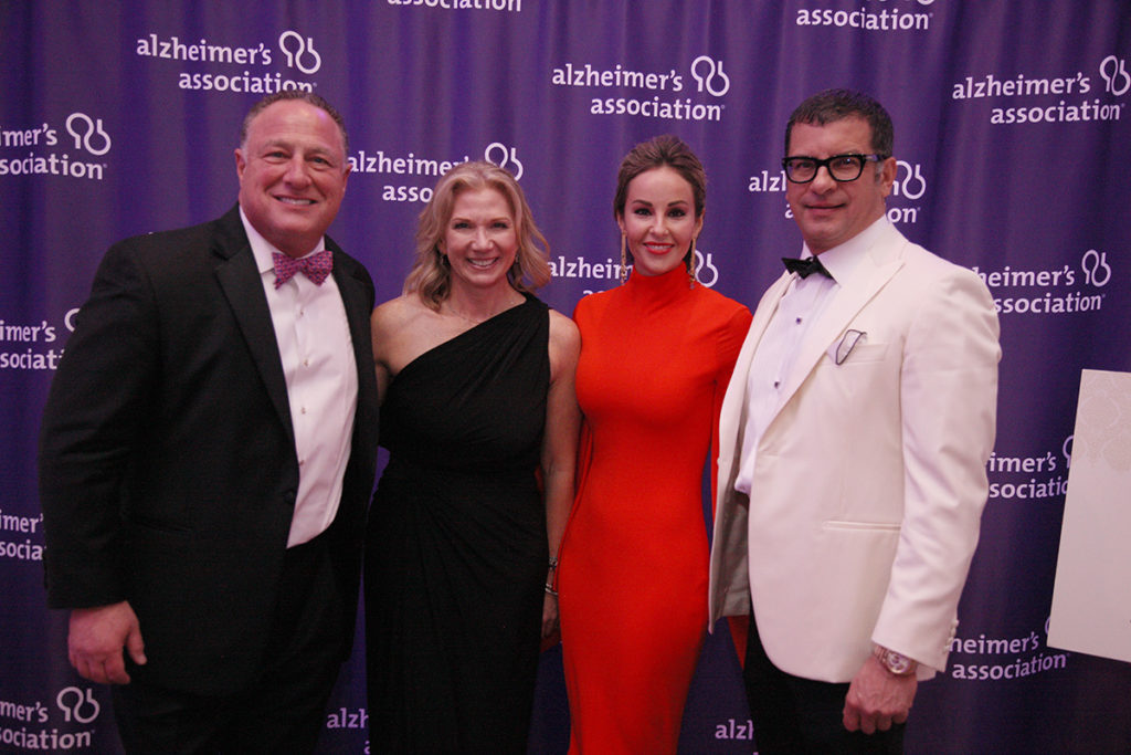 Jeff Weinstein, Dr. Diana Kerwin, Brent Gourdarzi, and Aissa Foyt