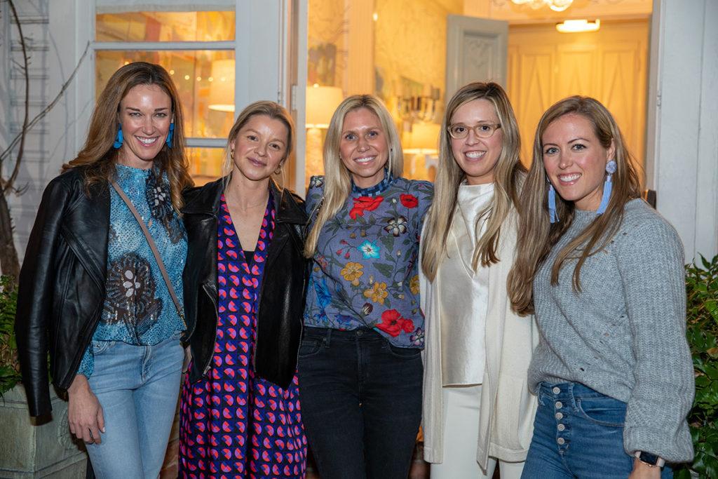 Brittany Hunt, Annie O'Grady, Hillary Muff, Megan Adams Brooks, and Beth Smith