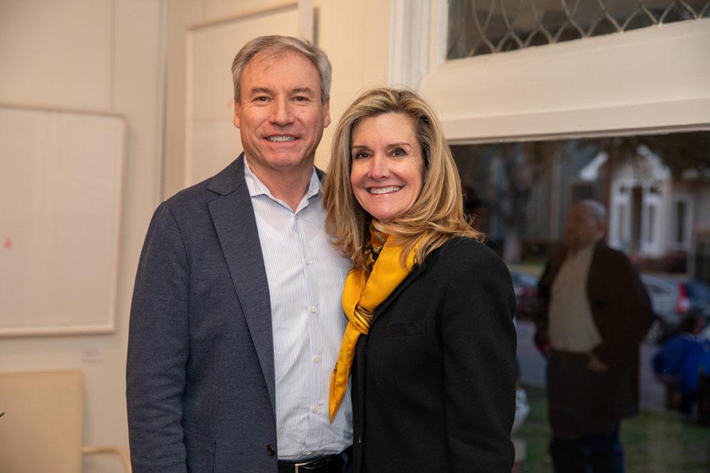 Joe and Tanya Mendenhall
