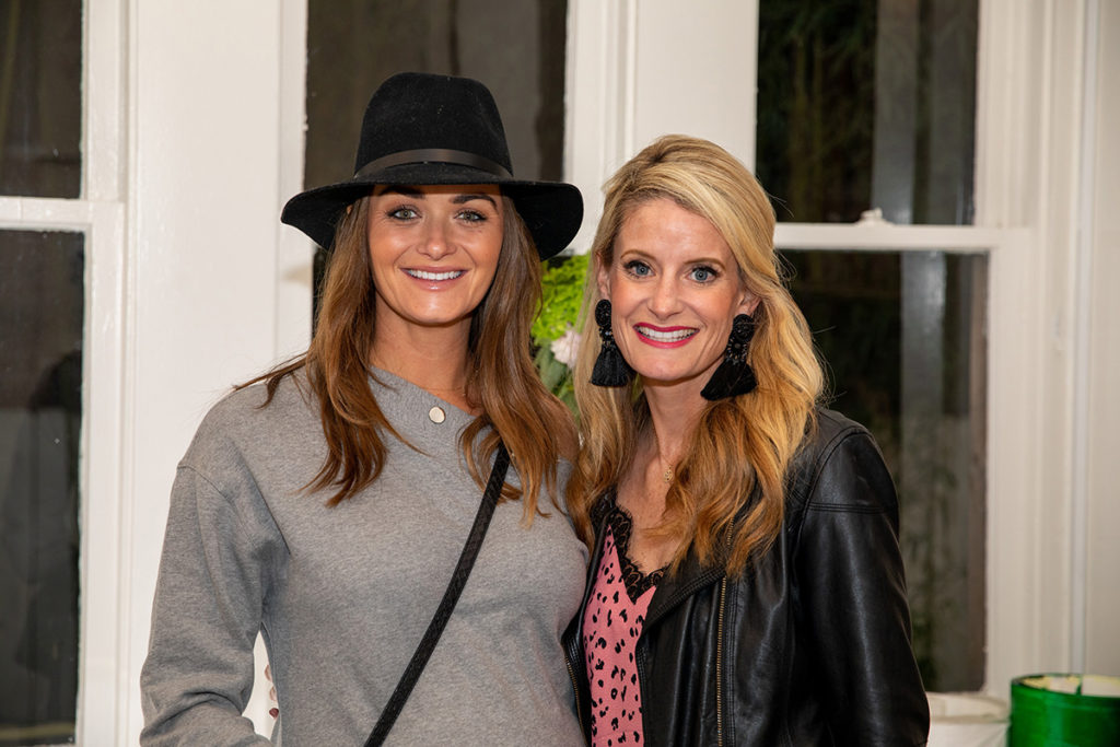 Lauren Schultis and Jennifer Carlson