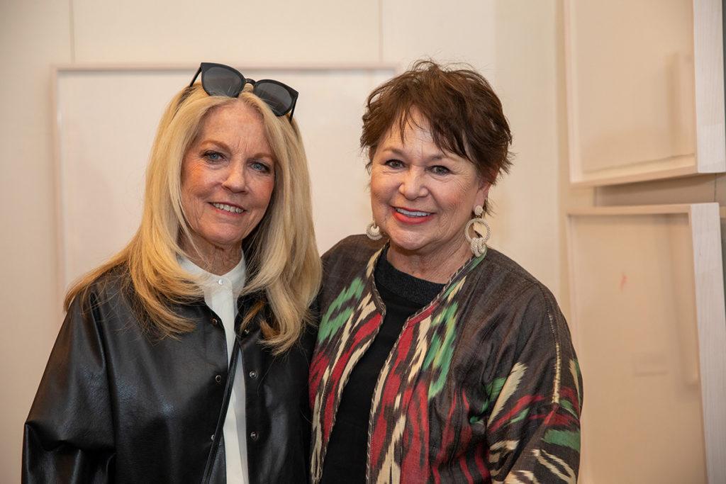 Pam Barrett and Kathryn Clinton
