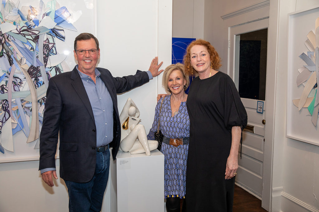 Richard and Sherry Lane with Jocelyn Braxton Armstrong