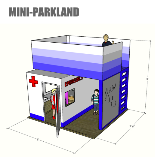 Mini Parkland: Austin Commercial, Corgan