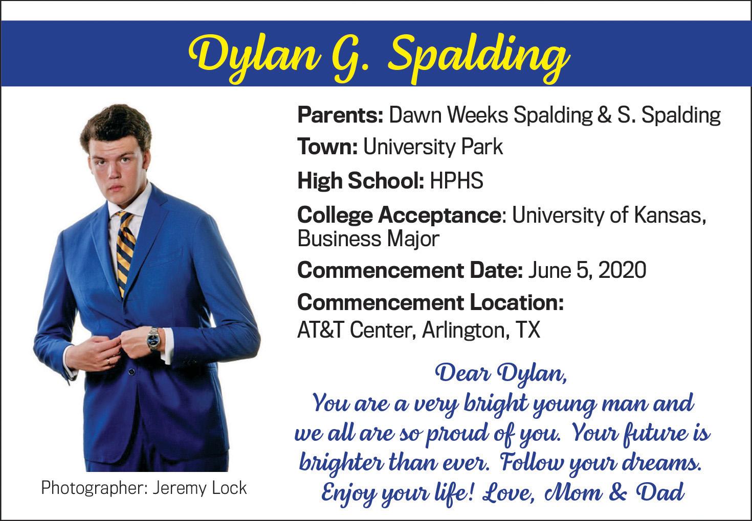 Dylan G. Spalding