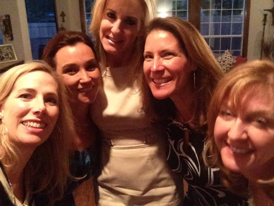 Phyllis Cole McNight, Melissa Senter, Leslie, Denise Kile Lyman, and Lynda Oliver