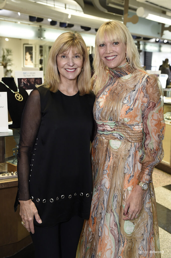 Martha Leonard and Tiffany Forsberg