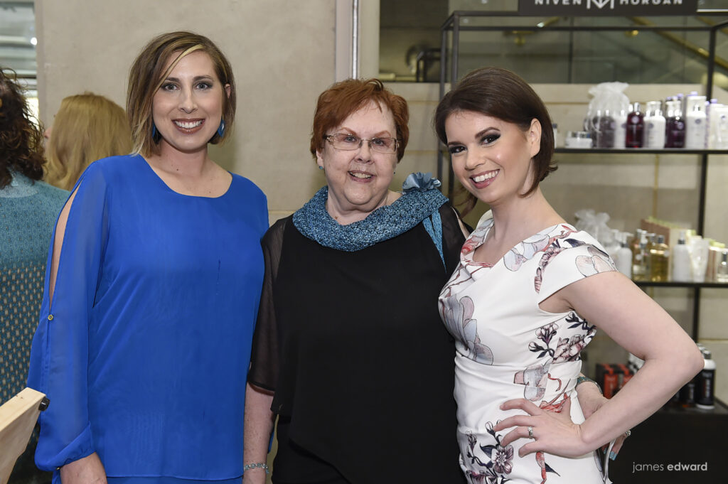 Tiffany Wittman, Dianne Blankenstein, and Crystal Finney