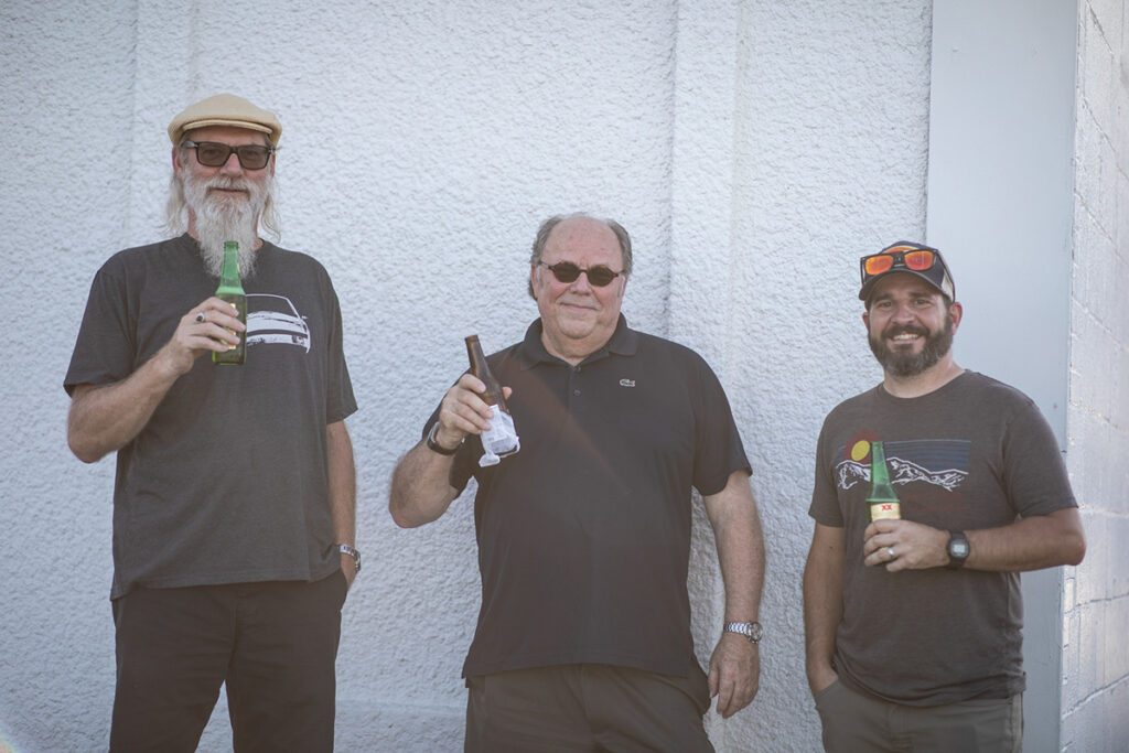 Alan Lage, Rob Adams, and Bret Turner