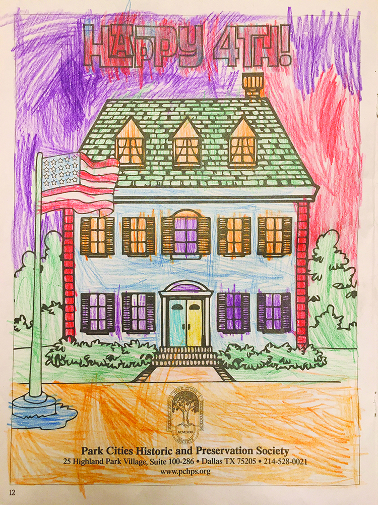 2 – 4 age category: Corinne Sink of Preston Hollow (4 years old)