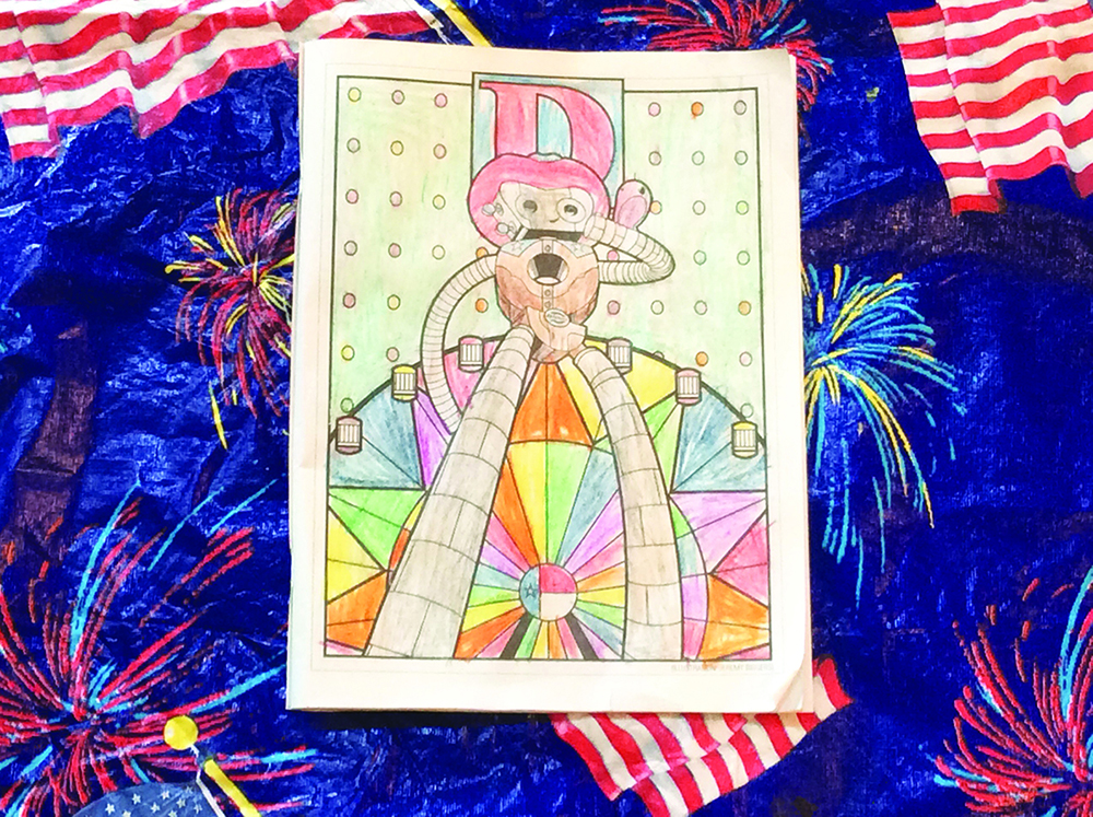 5 – 7 age category: Mikayla McCleskey of Park Cities (7 years old)