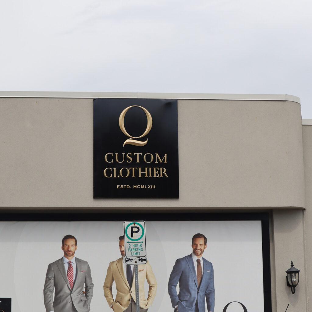 Q - Q Custom Clothier
