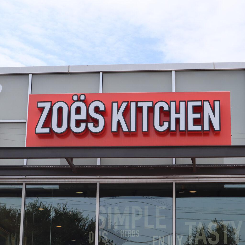 Z - Zoes Kitchen