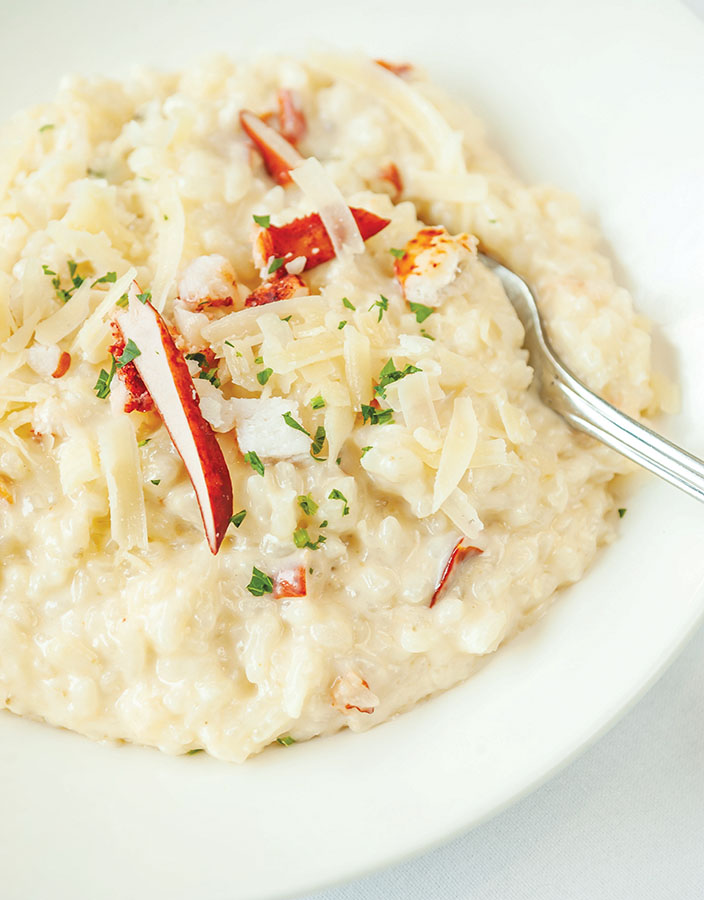 Al Biernat's: Lobster Risotto