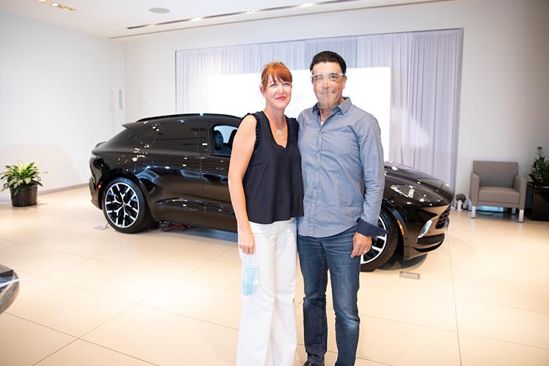 Rhonda and Ivan Contreras