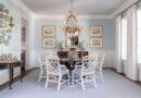 Four Trends in Interior Design: Antiques, Brass, Color, Wallpaper