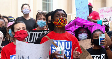 Hundreds March in Highland Park, at SMU to Protest Racial Injustice