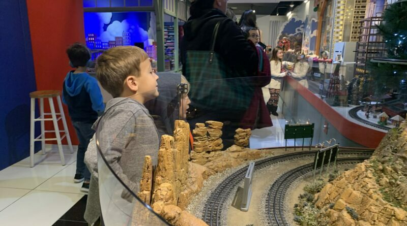 Trains at NorthPark Mastermind Creates 'Magical Little Worlds'