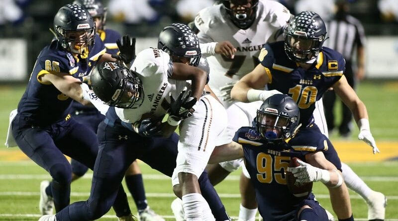 Scots Rout Wranglers, Win District Title