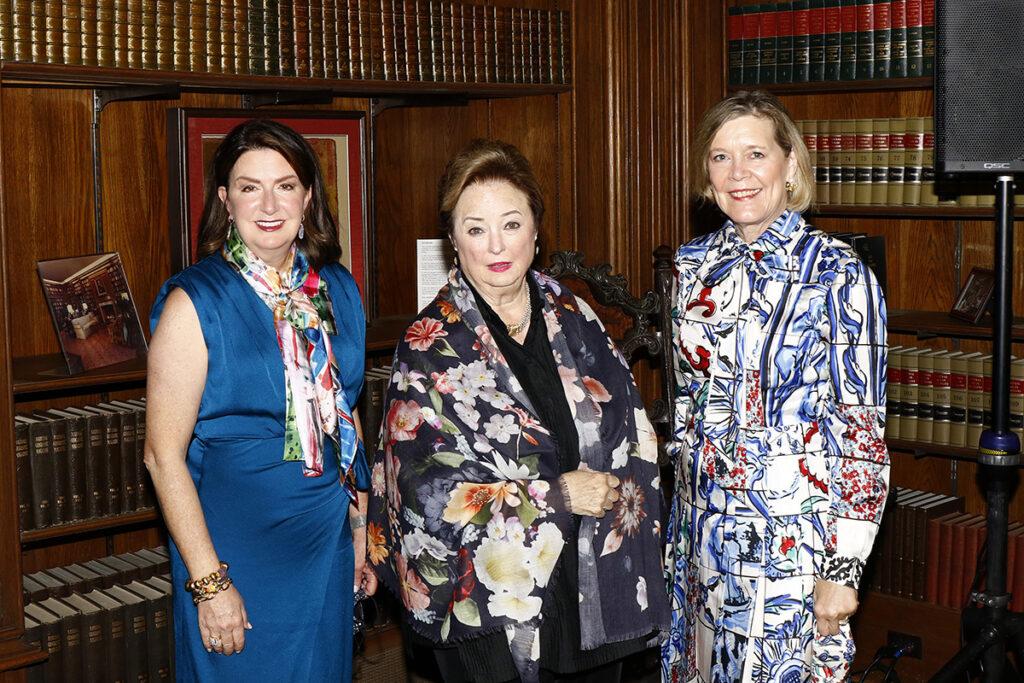 Suzanne Millet, Mary Brinegar, and Kay Weeks