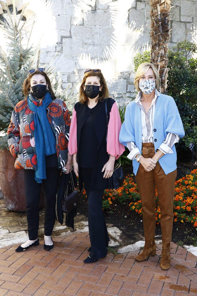 Caroline Whitman, Lisa Fine, and Beth Ewing
