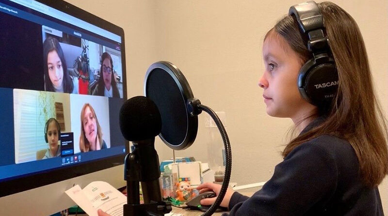 Wesley Prep Fourth-Graders Become Podcast People