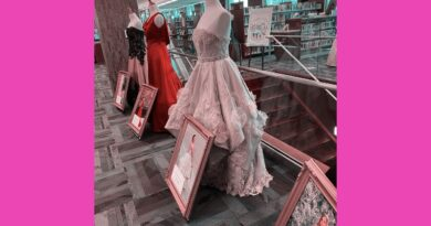La Fiesta Gala Gowns On Display At UP Library