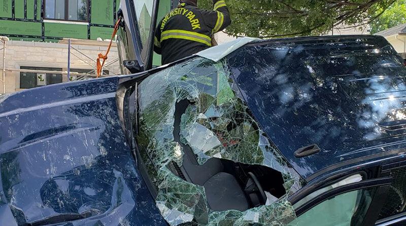 Crews In UP Respond To Rollover Crash At Hillcrest, Southwestern